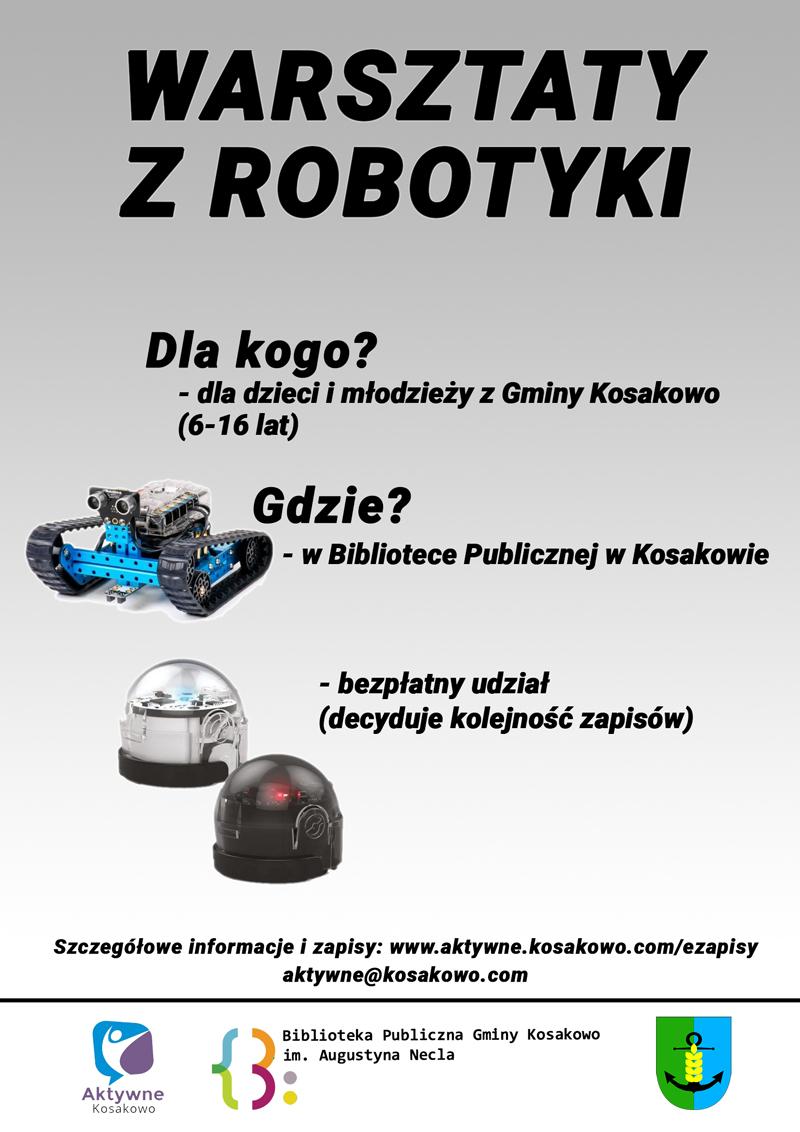 plakat roboty