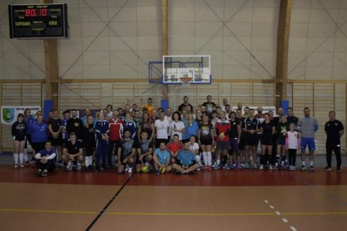 Turniej na otwarcie akademii siatkówki Daniela Plińskiego